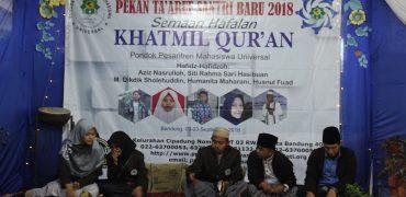 Semaan Al-Quran dan Pembukaan Ta'aruf Santri 2018